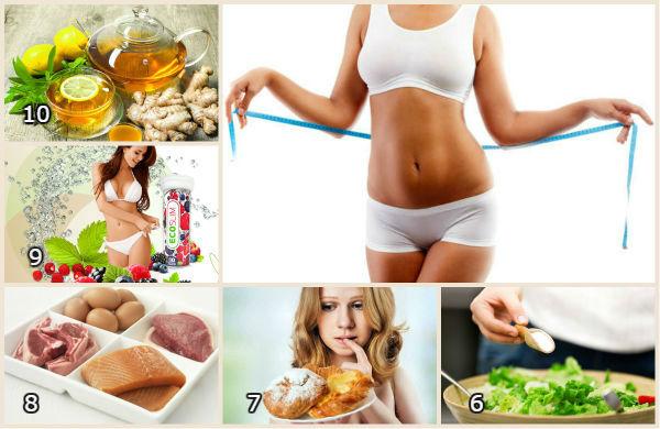Как похудеть в 10 лет - диета, меню
